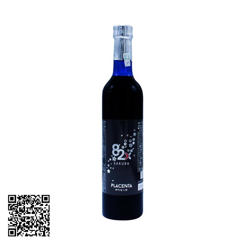 Tinh chất nhau thai Placenta 82x Sakura Premium 450000mg 500ml - Mẫu 2019